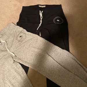 Lot of 2 Abercrombie & Fitch lounge pants M